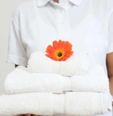 toallas suaves y esponjosas