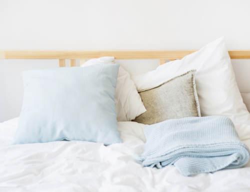 Textiles del hogar. Frecuencia de lavado.