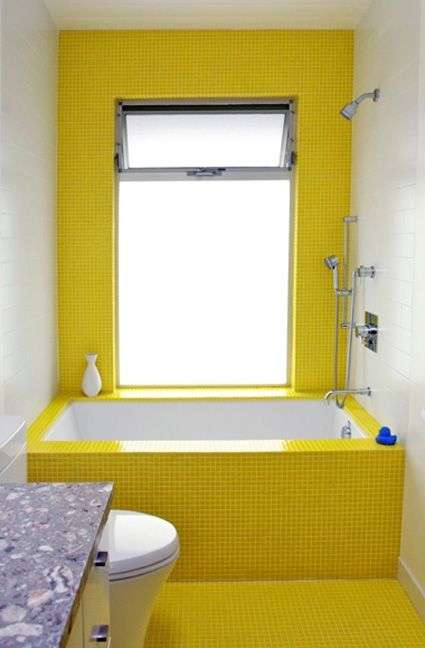 bañera-amarilla