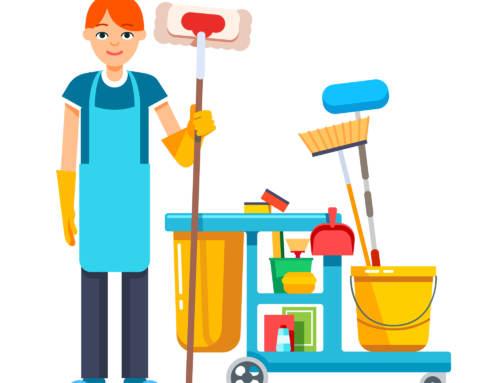 Empleada de hogar: sus primeros días de trabajo en casa.