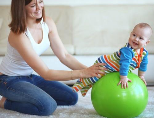 La estimulación temprana en bebés.