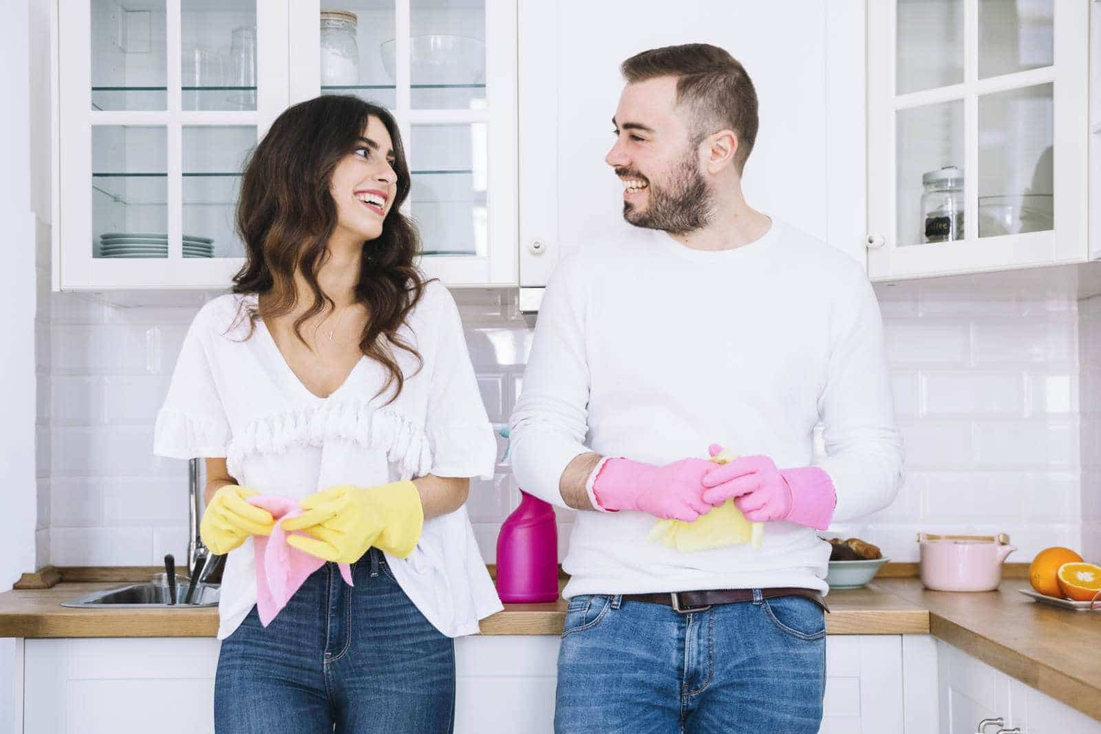Cómo ser mas productivos en las tareas el hogar.