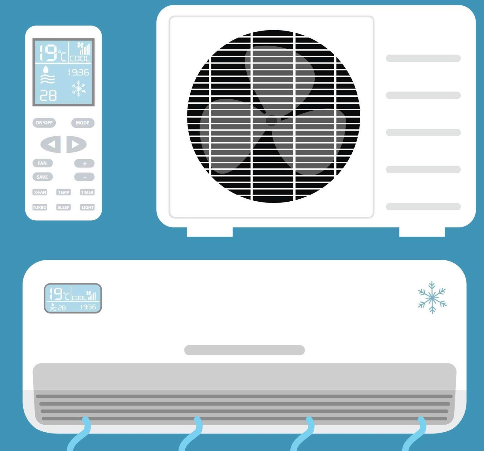 Cómo poner a punto el aire acondicionado.