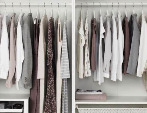 Cómo organizar el armario y mantenerlo ordenado